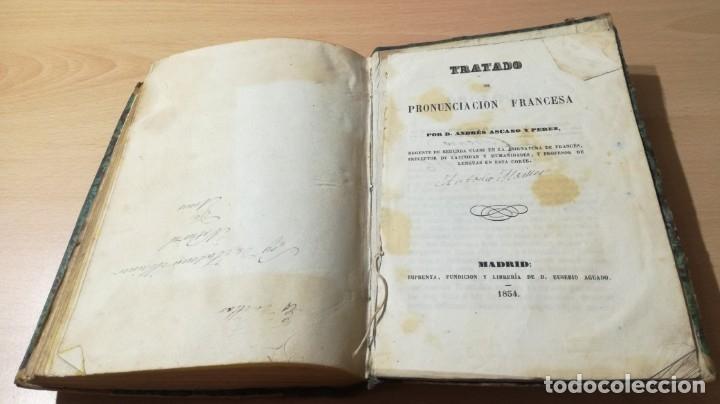 Libros antiguos: GRAMATICA FRANCESA - ANTONIO BERGNES DE LAS CASAS - JUAN OLIVARES IMPRESOR BARCELONA 1858 - Foto 11 - 180276958