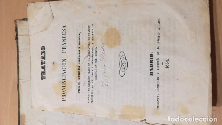 Libros antiguos: GRAMATICA FRANCESA - ANTONIO BERGNES DE LAS CASAS - JUAN OLIVARES IMPRESOR BARCELONA 1858 - Foto 13 - 180276958