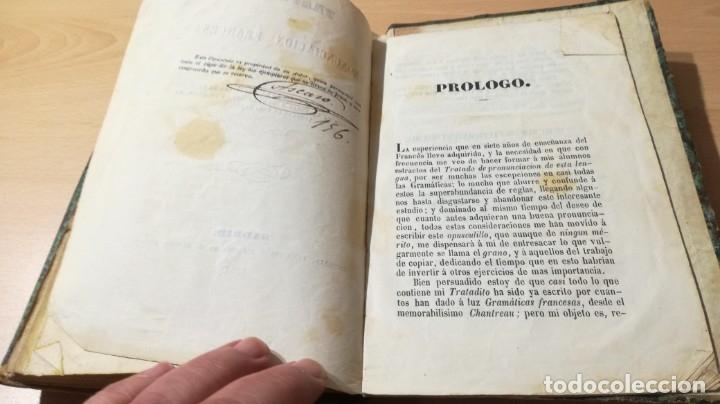 Libros antiguos: GRAMATICA FRANCESA - ANTONIO BERGNES DE LAS CASAS - JUAN OLIVARES IMPRESOR BARCELONA 1858 - Foto 14 - 180276958