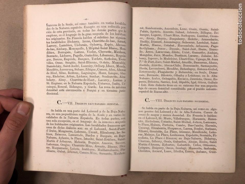 Libros antiguos: GRAMÁTICA DE LOS CUATRO DIALECTOS LITERARIOS DE LA LENGUA EUSKARA. ARTURO CAMPION. 1884 - Foto 3 - 181518563