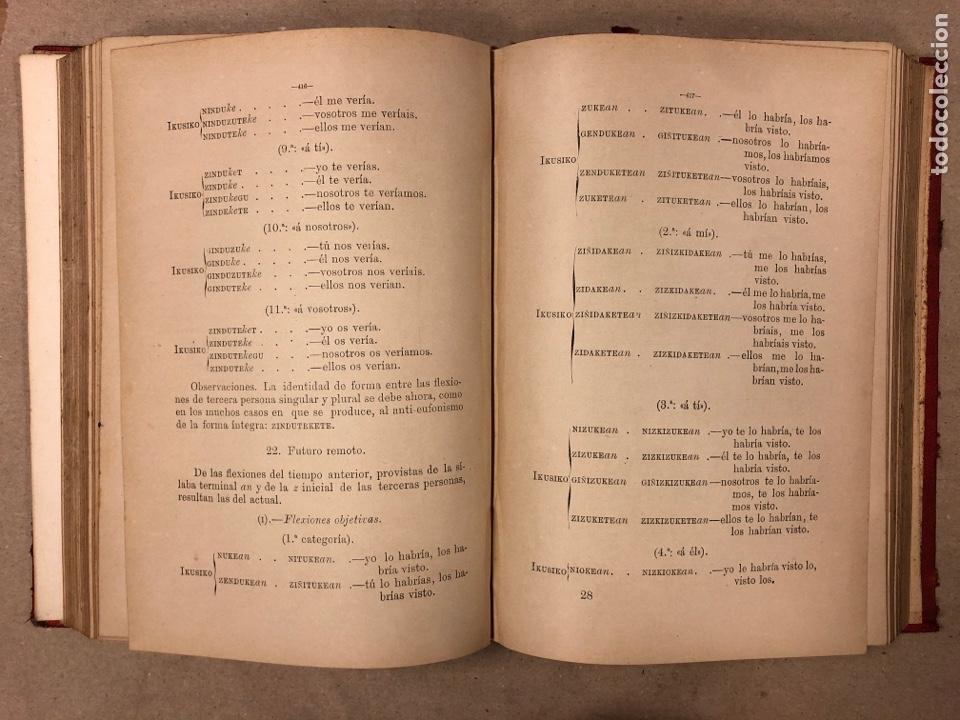 Libros antiguos: GRAMÁTICA DE LOS CUATRO DIALECTOS LITERARIOS DE LA LENGUA EUSKARA. ARTURO CAMPION. 1884 - Foto 5 - 181518563