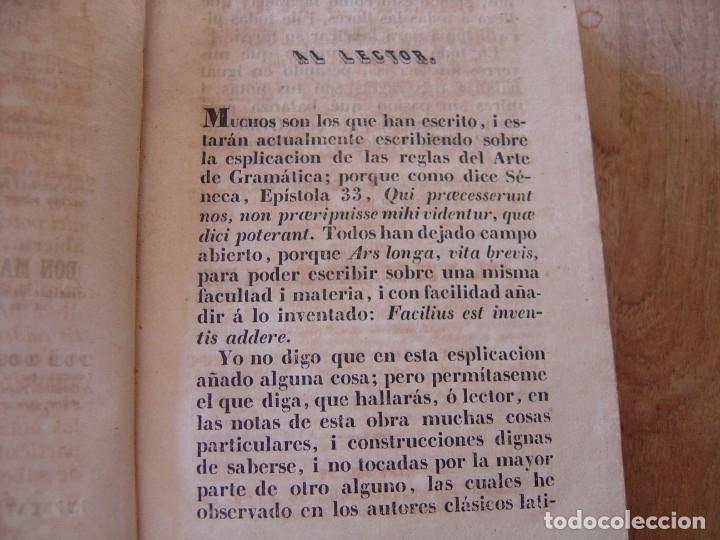 Libros antiguos: ARTE EXPLICADO GRAMÁTICO PERFECTO. MARCOS MÁRQUEZ DE MEDINA. 1852 - Foto 4 - 182947412