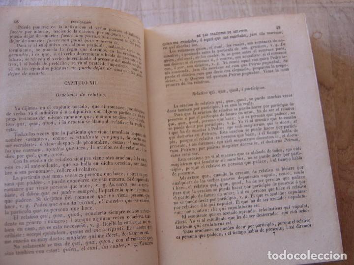 Libros antiguos: ARTE EXPLICADO GRAMÁTICO PERFECTO. MARCOS MÁRQUEZ DE MEDINA. 1852 - Foto 5 - 182947412