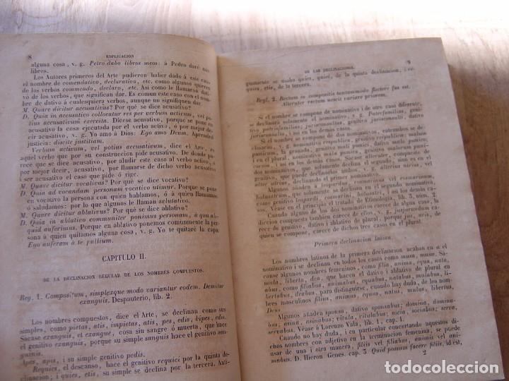 Libros antiguos: ARTE EXPLICADO GRAMÁTICO PERFECTO. MARCOS MÁRQUEZ DE MEDINA. 1852 - Foto 7 - 182947412