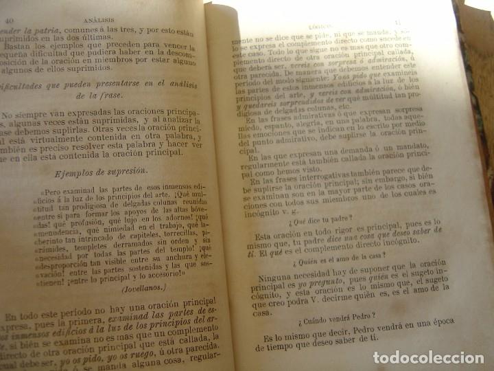 Libros antiguos: GRAMÁTICA ELEMENTAL DE LA LENGUA CASTELLANA. JOSÉ GIRÓ Y ROMA. 1884 - Foto 5 - 182947835
