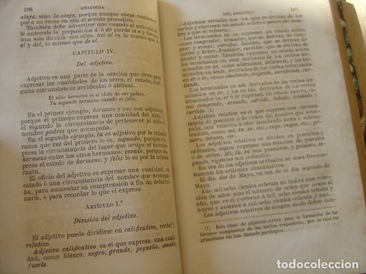 Libros antiguos: GRAMÁTICA ELEMENTAL DE LA LENGUA CASTELLANA. JOSÉ GIRÓ Y ROMA. 1884 - Foto 6 - 182947835