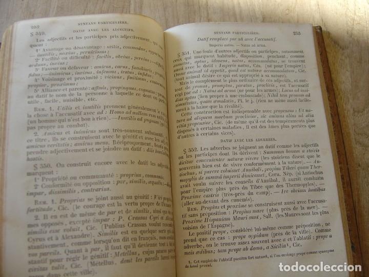 Libros antiguos: MÉTHODE POUR ÉTUDIER LA LANGUE LATINE PAR J. L. BURNOUF.1864 - Foto 5 - 182948301
