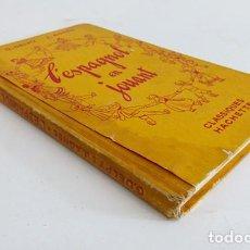 Libros antiguos: LIBRO PARA APRENDER ESPAÑOL DE 1949. Lote 183993375