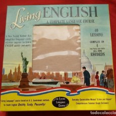 Libros antiguos: CURSO COMPLETO LIVING ENGLISH 1957. Lote 186183366
