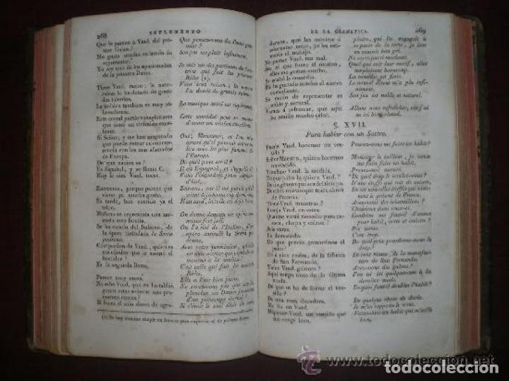 Libros antiguos: HABLAR BIEN FRANCÉS. GRAMATICA COMPLETA. N. CHANTREAU. IMP. J. ALZINE. 1816 - Foto 4 - 186922215