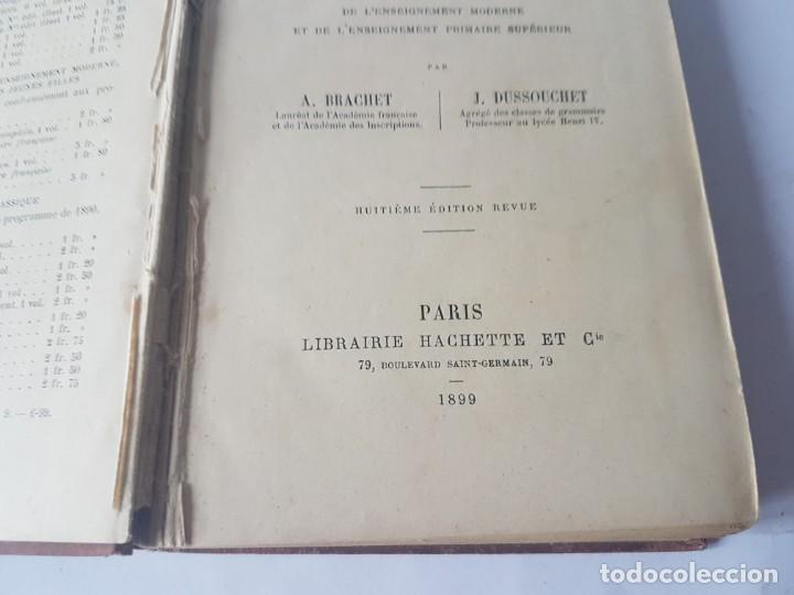 Libros antiguos: GRAMMAIRE FRANCAISE COMPLETE - EDITADO EN 1899 - Foto 5 - 188758541