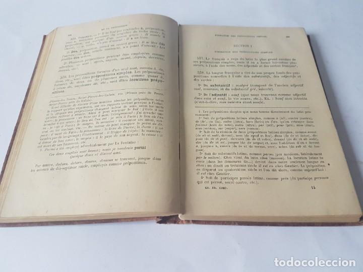 Libros antiguos: GRAMMAIRE FRANCAISE COMPLETE - EDITADO EN 1899 - Foto 6 - 188758541