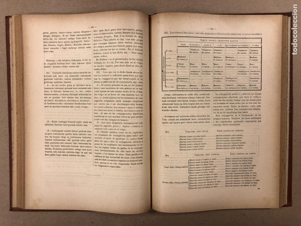 Libros antiguos: EUSKAL - IZKINDEA, GRAMÁTICA EÚSKARA POR RESURRECCIÓN MARÍA DE AZKUE. 1891 TIPOGRAFÍA DE JOSÉ DE AST - Foto 6 - 190345885