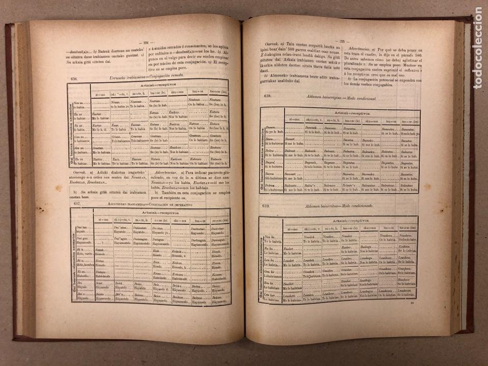 Libros antiguos: EUSKAL - IZKINDEA, GRAMÁTICA EÚSKARA POR RESURRECCIÓN MARÍA DE AZKUE. 1891 TIPOGRAFÍA DE JOSÉ DE AST - Foto 7 - 190345885