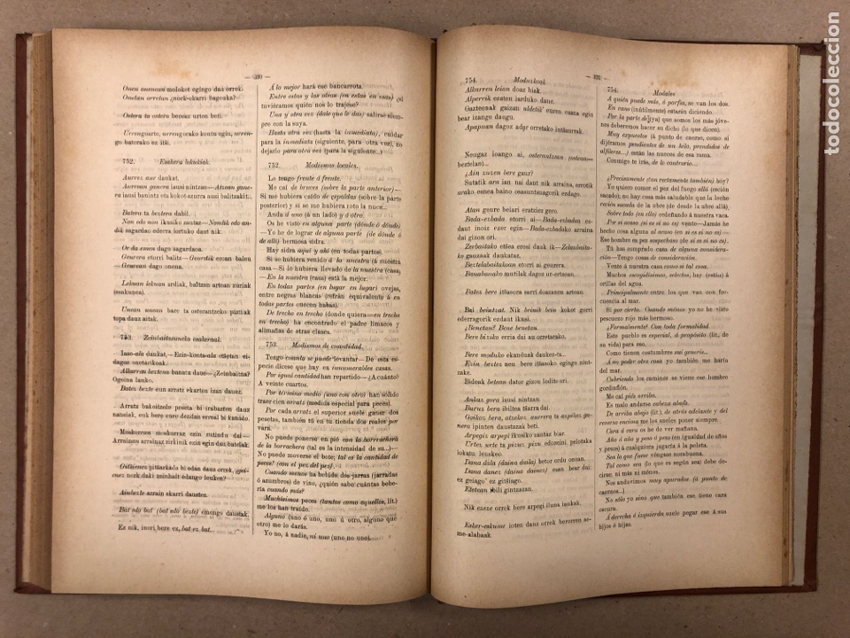 Libros antiguos: EUSKAL - IZKINDEA, GRAMÁTICA EÚSKARA POR RESURRECCIÓN MARÍA DE AZKUE. 1891 TIPOGRAFÍA DE JOSÉ DE AST - Foto 9 - 190345885