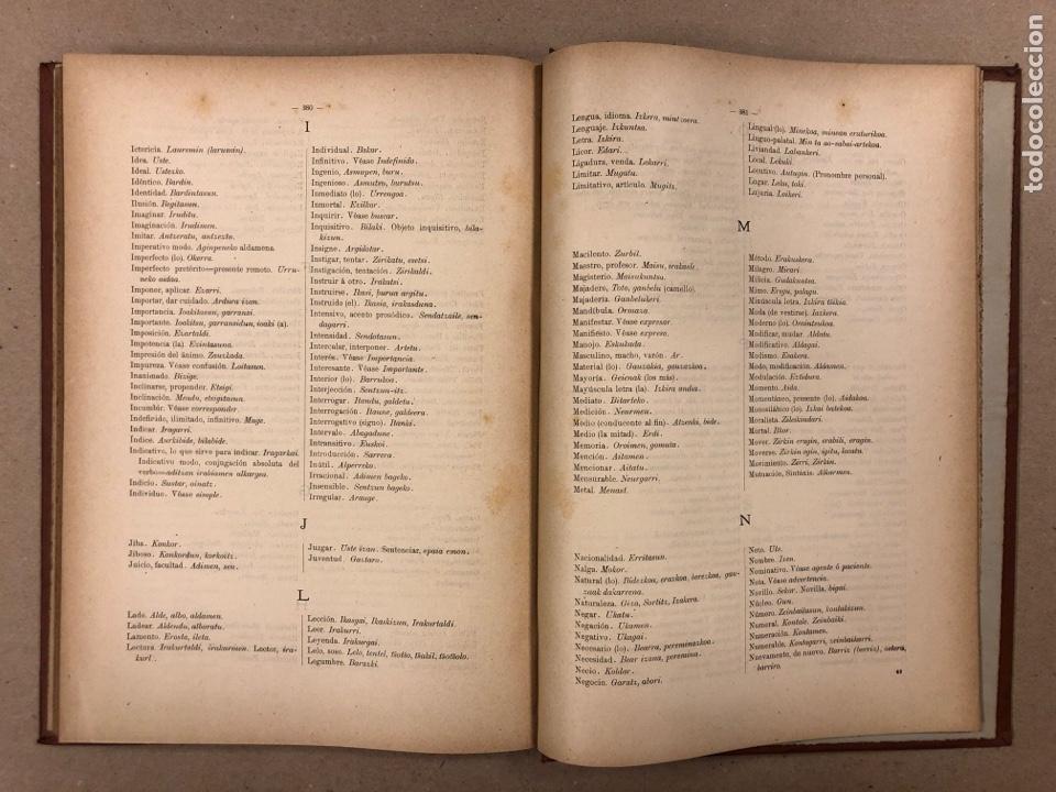 Libros antiguos: EUSKAL - IZKINDEA, GRAMÁTICA EÚSKARA POR RESURRECCIÓN MARÍA DE AZKUE. 1891 TIPOGRAFÍA DE JOSÉ DE AST - Foto 10 - 190345885