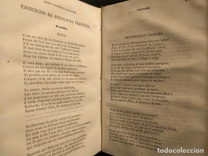 Libros antiguos: Chantreau Reformado. Nueva Gramática Francesa. Torrecilla. París. Rosa Bouret y Cª. 1853. - Foto 5 - 190708398