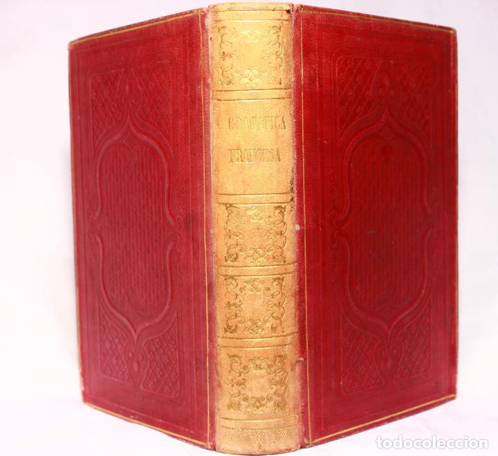 CHANTREAU REFORMADO. NUEVA GRAMÁTICA FRANCESA. TORRECILLA. PARÍS. ROSA BOURET Y Cª. 1853. (Libros Antiguos, Raros y Curiosos - Cursos de Idiomas)
