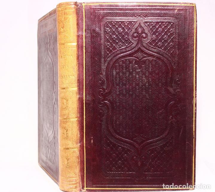 Libros antiguos: Gramática de la Lengua Castellana. D. Pedro Martínez López. París. Rosa, Bouret y Cia. 1851. - Foto 2 - 190708420