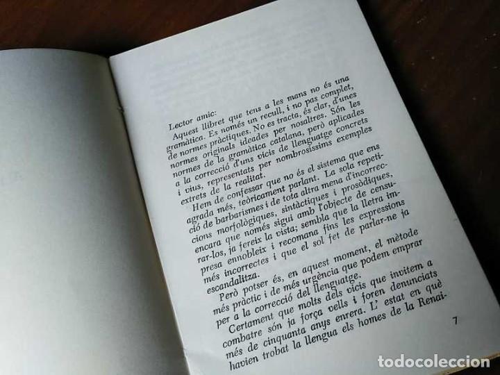 Libros antiguos: PARLEU BÉ EL CATALÁ II NORMES PRÁCTIQUES - 1966 EDITORIAL CLARET - CATALAN - - Foto 5 - 192553807