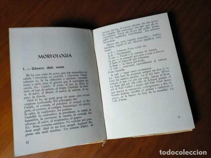 Libros antiguos: PARLEU BÉ EL CATALÁ II NORMES PRÁCTIQUES - 1966 EDITORIAL CLARET - CATALAN - - Foto 6 - 192553807