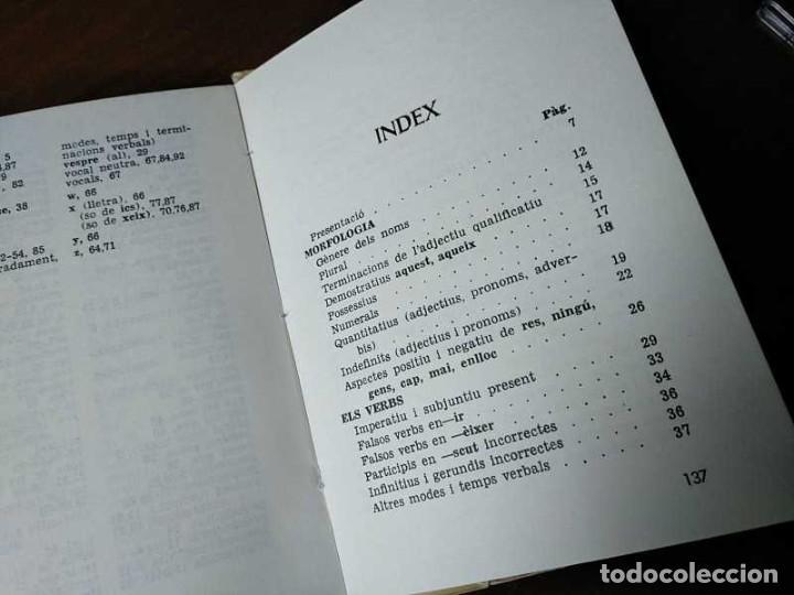 Libros antiguos: PARLEU BÉ EL CATALÁ II NORMES PRÁCTIQUES - 1966 EDITORIAL CLARET - CATALAN - - Foto 8 - 192553807