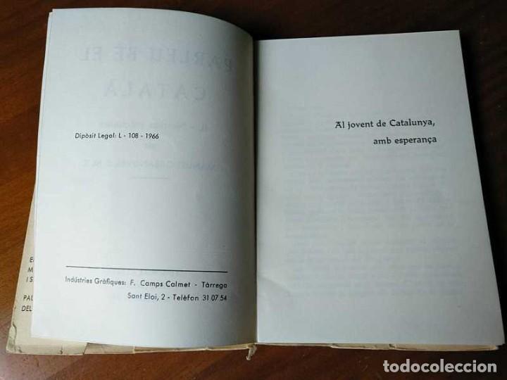 Libros antiguos: PARLEU BÉ EL CATALÁ II NORMES PRÁCTIQUES - 1966 EDITORIAL CLARET - CATALAN - - Foto 12 - 192553807
