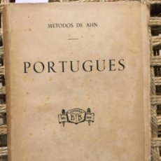Libros antiguos: PRIMER Y SEGUNDO CURSO DE PORTUGUES, METODOS DE AHN, FRANCISCO DE P HIDALGO, 1876. Lote 193828506