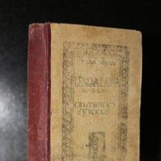 Libros antiguos: GRAMÁTICA LATINA. PRIMER CURSO. FONÉTICA, MORFOLOGÍA Y BREVES NOCIONES DE SINTAXIS.. Lote 194322883