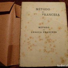 Libros antiguos: MÉTODO DE LENGUA FRANCESA. AÑO 1934. 225 PÁGINAS.TERSACIO SERCO Y MARCOS.. Lote 194532660