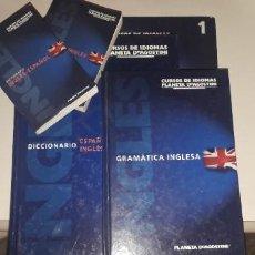 Libros antiguos: CURSO DE INGLÉS PLANETA AGOSTINI. Lote 196679305