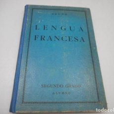 Libros antiguos: G.M. BRUÑO LENGUA FRANCESA SEGUNDO GRADO ALUMNO Y99517W. Lote 197867998