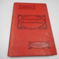 Libros antiguos: OLENDORF GRAMÁTICA INGLESA CLAVE DE LOS TEMAS.1º +2ºCURSO Y99518W. Lote 197868102