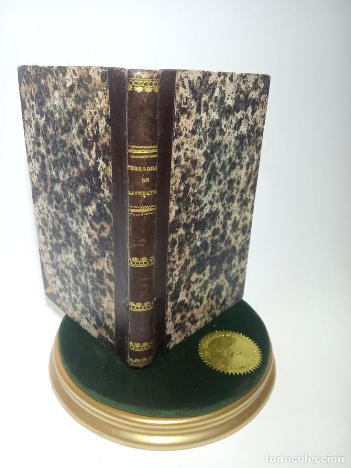CURSO ELEMENTAL DE LITERATURA LATINA. DON ÁNGEL MARÍA TERRADILLOS. IMPRENTA DE LA ILUSTRACIÓN. 1848. (Libros Antiguos, Raros y Curiosos - Cursos de Idiomas)