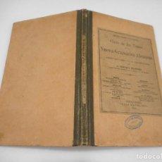 Libros antiguos: ENRIQUE RUPPERT CLAVE DE LOS TEMAS DE LA NUEVA GRAMÁTICA ALEMANA Y99716W. Lote 198401868