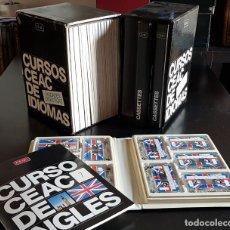 Libros antiguos: CURSO DE INGLES CEAC EN 30 CASSETTES + 20 LIBROS DE EJERCICIOS + GUIA DE ESTUDIOS. Lote 198481646