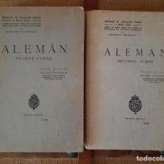 Libros antiguos: LIBRO CURSO DE ALEMAN. Lote 198836185