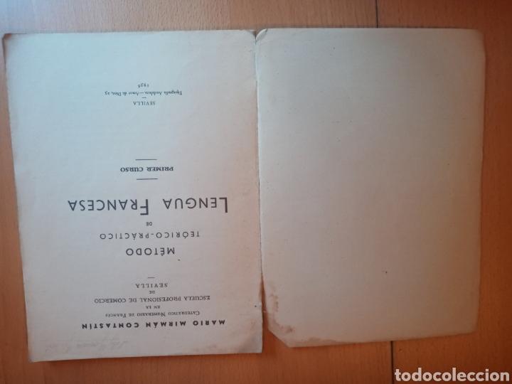 Libros antiguos: METODO TEÓRICO PRÁCTICO LENGUA FRANCESA 1936 - Foto 2 - 199513072
