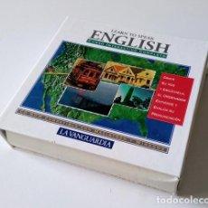 Libros antiguos: CURSO INTERACTIVO COMPLETO DE INGLÉS - LEARN TO SPEAK ENGLISH - 7 CD-ROM - LA VANGUARDIA. Lote 201139640