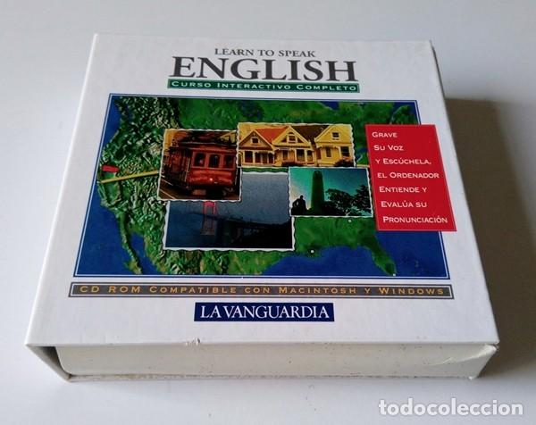 Libros antiguos: CURSO INTERACTIVO COMPLETO DE INGLÉS - LEARN TO SPEAK ENGLISH - 7 CD-ROM - LA VANGUARDIA - Foto 3 - 201139640
