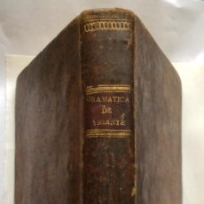 Libros antiguos: GRAMÁTICA LATINA POR D.JUAN DE YRIARTE ,IMPRENTA REAL 1804. Lote 201515266
