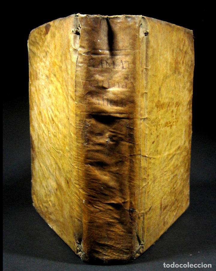 Libros antiguos: Año 1791 Raro Método completo para aprender latín 3 libros en 1 volúmen Castellano Pergamino - Foto 2 - 106908759