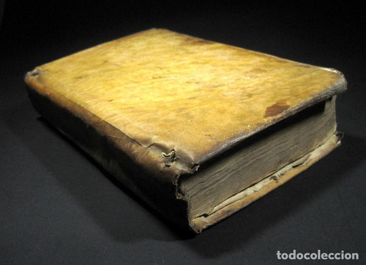 Libros antiguos: Año 1791 Raro Método completo para aprender latín 3 libros en 1 volúmen Castellano Pergamino - Foto 4 - 106908759