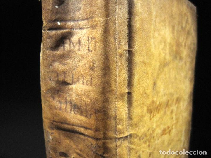 Libros antiguos: Año 1791 Raro Método completo para aprender latín 3 libros en 1 volúmen Castellano Pergamino - Foto 5 - 106908759