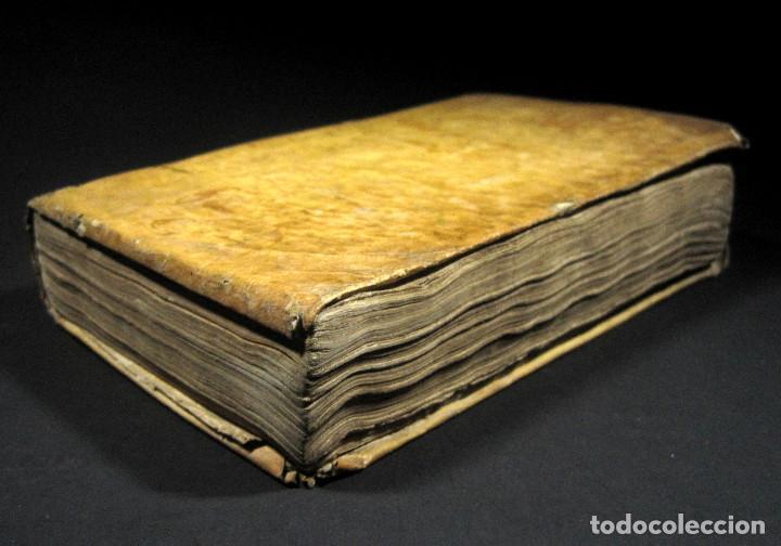 Libros antiguos: Año 1791 Raro Método completo para aprender latín 3 libros en 1 volúmen Castellano Pergamino - Foto 3 - 106908759