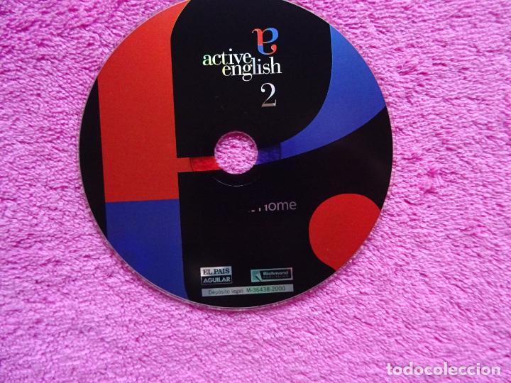 Libros antiguos: active english curso de inglés completo el pais 2000 aguilar libro + 14 cds - Foto 14 - 256007690
