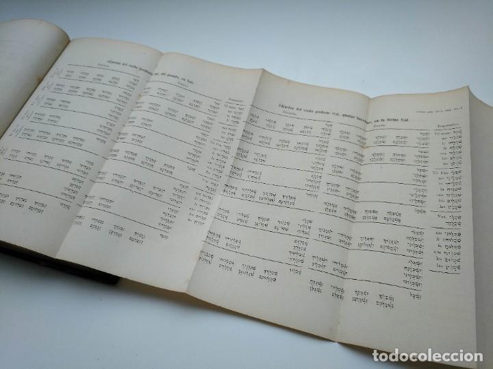 Libros antiguos: GRAMÁTICA HEBREA: MARIANO VISCASILLAS (1872) Y RAMON MANUEL GARRIGA (1866) - PRIMERA EDICIÓN - Foto 11 - 204257271