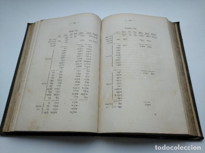 Libros antiguos: GRAMÁTICA HEBREA: MARIANO VISCASILLAS (1872) Y RAMON MANUEL GARRIGA (1866) - PRIMERA EDICIÓN - Foto 12 - 204257271