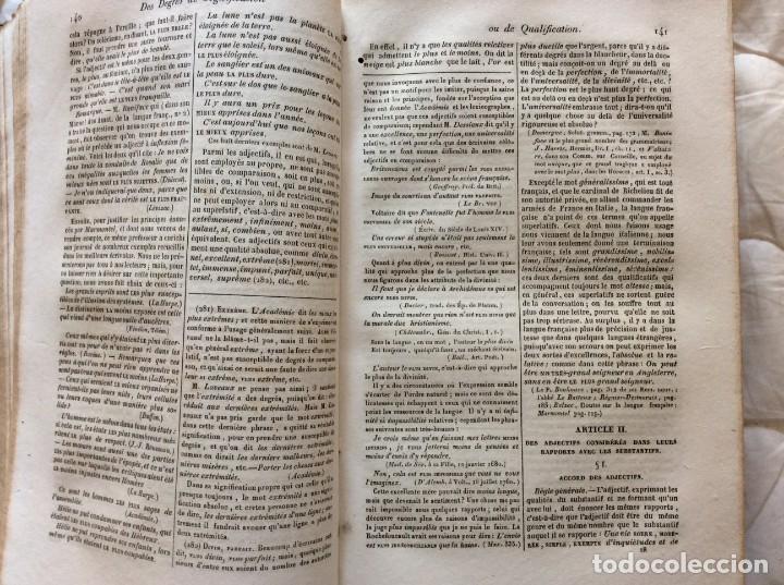 Libros antiguos: Gramática de las gramáticas, o análisis razonado de los mejores tratados sobre el idioma...1838 - Foto 7 - 204463482