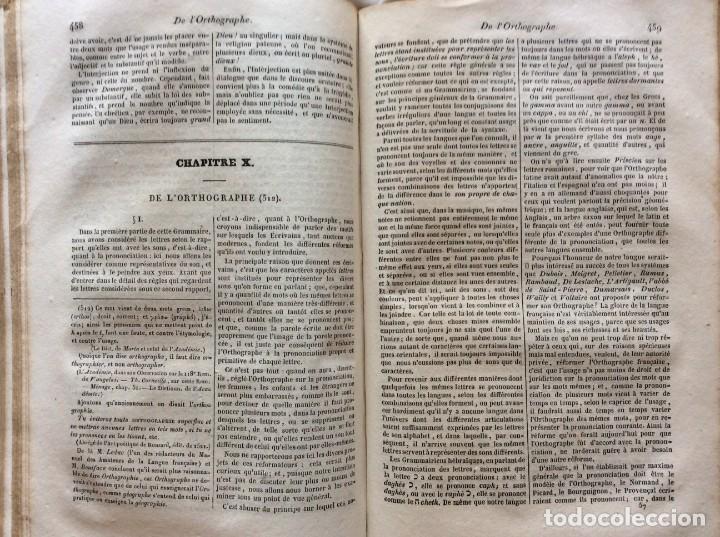 Libros antiguos: Gramática de las gramáticas, o análisis razonado de los mejores tratados sobre el idioma...1838 - Foto 10 - 204463482